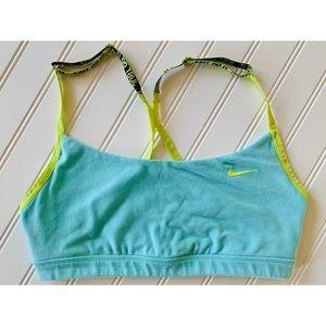 NIKE dri-fit adjustable sports bra just do it M